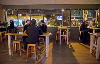 The Dancing Gnome Beer in Sharpsburg. (Antonella Crescimbeni/Post-Gazette)