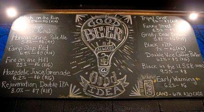 Grist House Craft Brewery. (Antonella Crescimbeni/Post-Gazette)