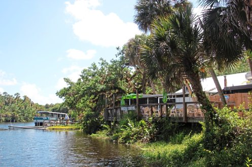 Snook Haven Restaurant, once a den of smugglers is now an old Florida destination tucked along the Myakka River. (Patricia Sheridan/Post-Gazette)