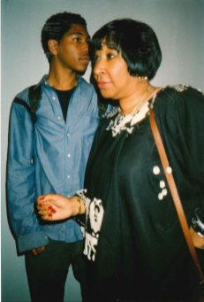 """Kyle Abraham with his mother Henrietta """"Jackie"""" Abraham, who died in May 2016. (Courtesy of Kyle Abraham)"""