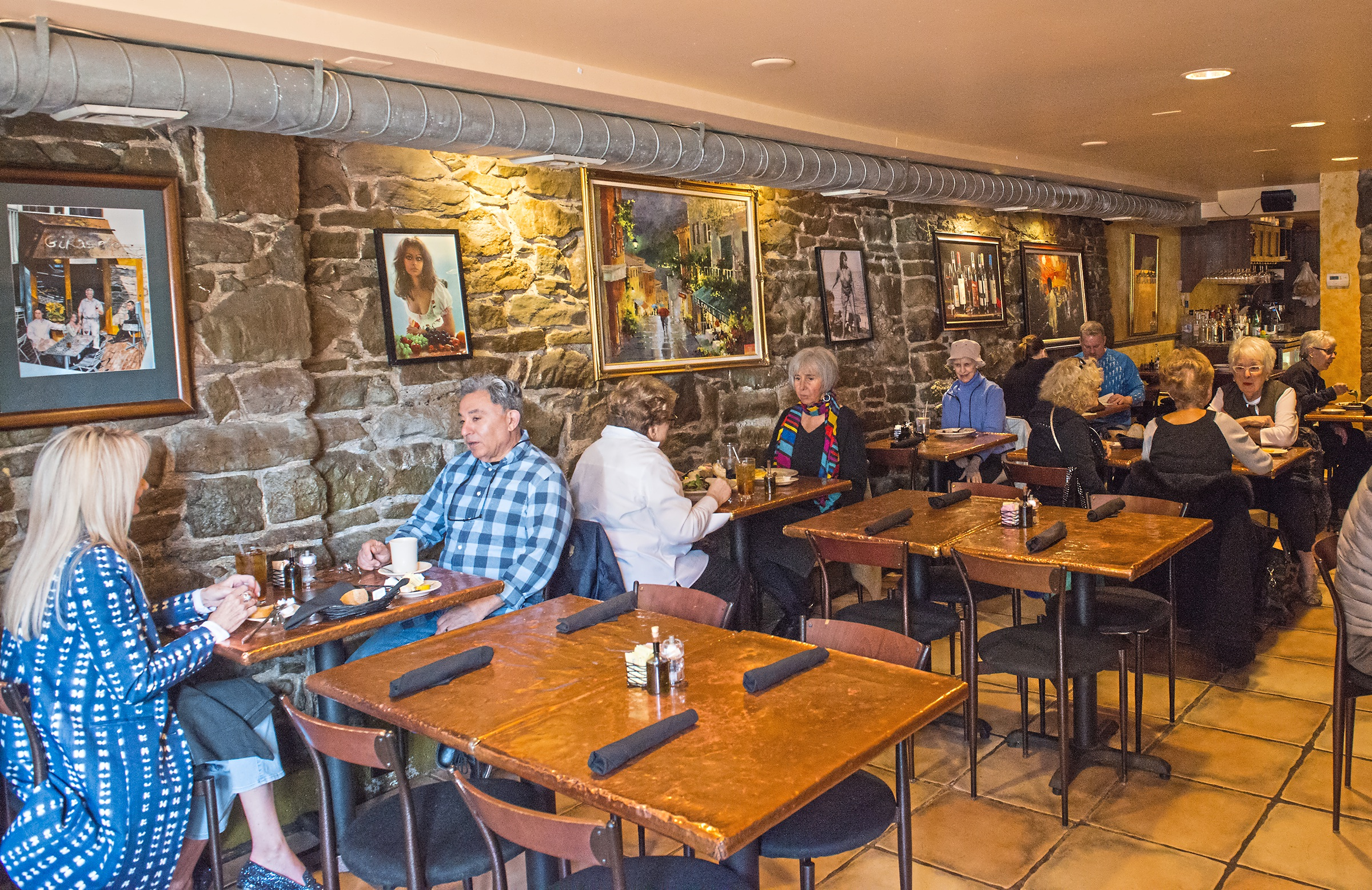 The interior of Girasole is pictured on Friday, April 27, 2018. (Lake Fong/Post-Gazette)