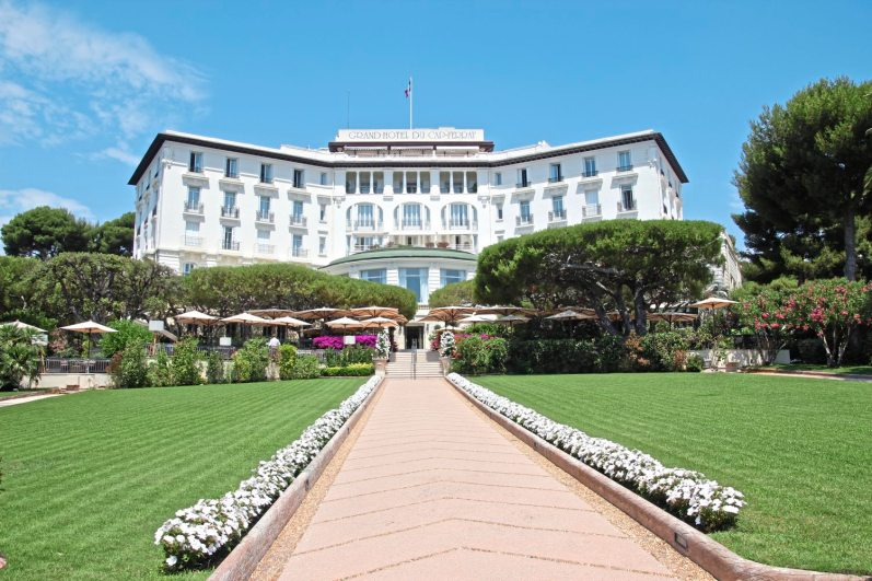 The Grand Hotel Cap Ferrat in St. Jean Cap Ferrat, on the French Riviera. (Patricia Sheridan/Post-Gazette)