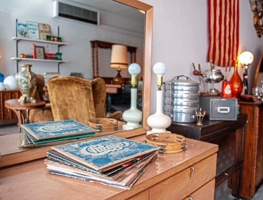 Items for sale at Heist in Dormont. (Andrew Stein/Post-Gazette)
