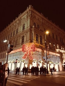 Vienna is a festive place to be during the holiday season. (Patricia Sheridan/Post-Gazette)
