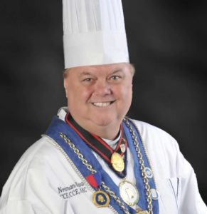 Chef Norman P. Hart, Chef Director of the American Academy of Culinary Arts