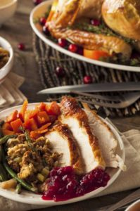 Eat This Not That, Turkey, stuffing, cranberry sauce, sweet potatoes.