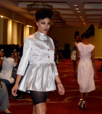 Fashions of Terry Jolo at the ReFined Culture's The Compilation at the Renaissance Pittsburgh Hotel.