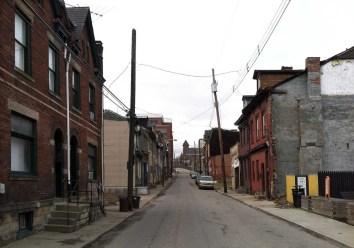 OHara Street is now Spring Garden Avenue. (Photo by Steve Mellon)