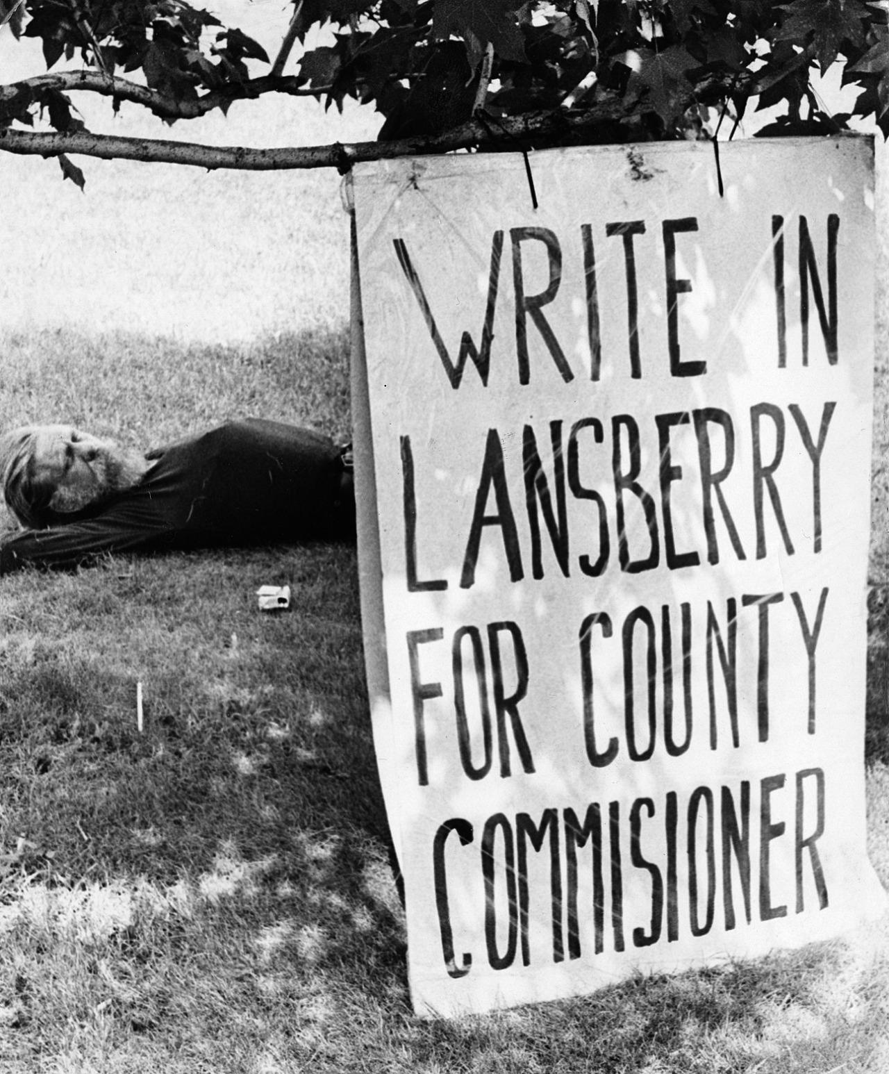Robert Lansberry, Aug. 1979 (Paul Slantis, Post-Gazette)