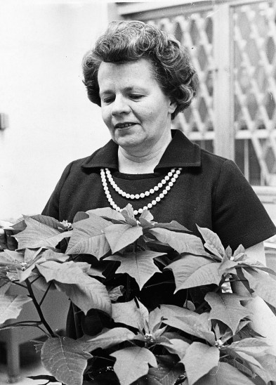 Wilma Scott Heide, Dec.17, 1969. (Photo by Michael Chikiris/Pittsburgh Press)