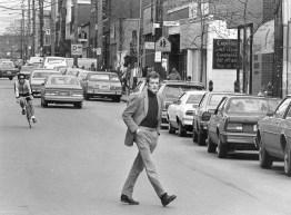 Walnut Street, April 4, 1985 (Mark Murphy/Post-Gazette)