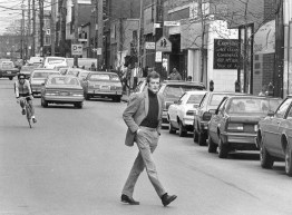 Walnut Street, April 4, 1985 (Mark Murphy/Post-Gazette)