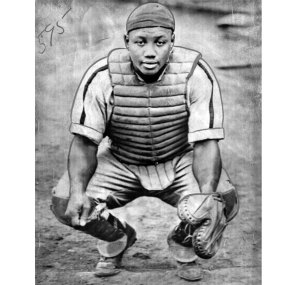 Gibson was a talented catcher with a powerful arm. (Associated Press photo)