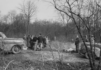 The body of Margaret was found in an isolated section of Hopewell Township. (Pittsburgh Press photo)
