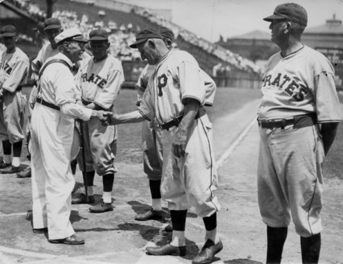Wagner Day at Forbes Field, June 1, 1933. (Photo credit: unknown)