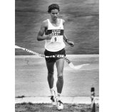 Ken Martin, who was the first male to cross the finish line. (Pittsburgh Press photo)