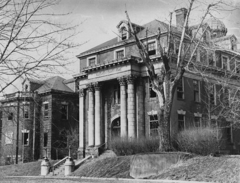 The County Poorhouse, built in the early 1900s, was demolished in 1971. They became unoccupied in 1958 when county indigent were moved to Kane Hospital. (Donald J. Stetzer/The Pittsburgh Press)