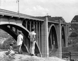 The bridge on Aug. 17, 1947. (Photo credit: Unknown)