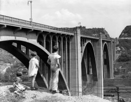 The bridge on Aug. 17, 1947. (Photo credit: Unknown)