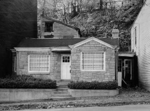 The house at 2153 Brighton Road. (Pittsburgh Press photo)
