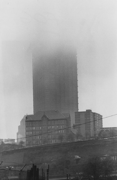 May 24, 1978: The U.S. Steel Building on a rainy day. (Harry Coughanour/Post-Gazette)