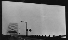 Oct. 17, 1986: Fog greets motorists exiting the Fort Pitt Tunnel. (Harry Coughanour/Post-Gazette)