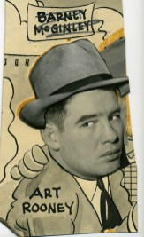 Rooney published in the Post-Gazette with a pasted on hat on Aug. 3, 1939.
