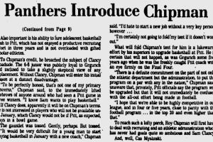 Chipman was hired in early 1980.