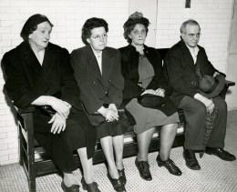From left: Julia Berardini, 53, Greta Becker, 52, Barbara Flinner, 55, and Nick Donati, 64, were among the injured. (The Pittsburgh Press)