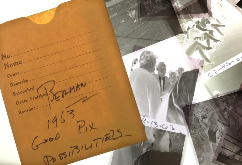 Morris Berman's 1963 negatives. (Steve Mellon/Post-Gazette)