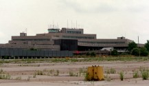 The airport looked forlorn and abandoned in 1997. (Lake Fong/Post-Gazette)