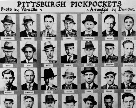 These pickpockets could have stepped out of a James Cagney movie.