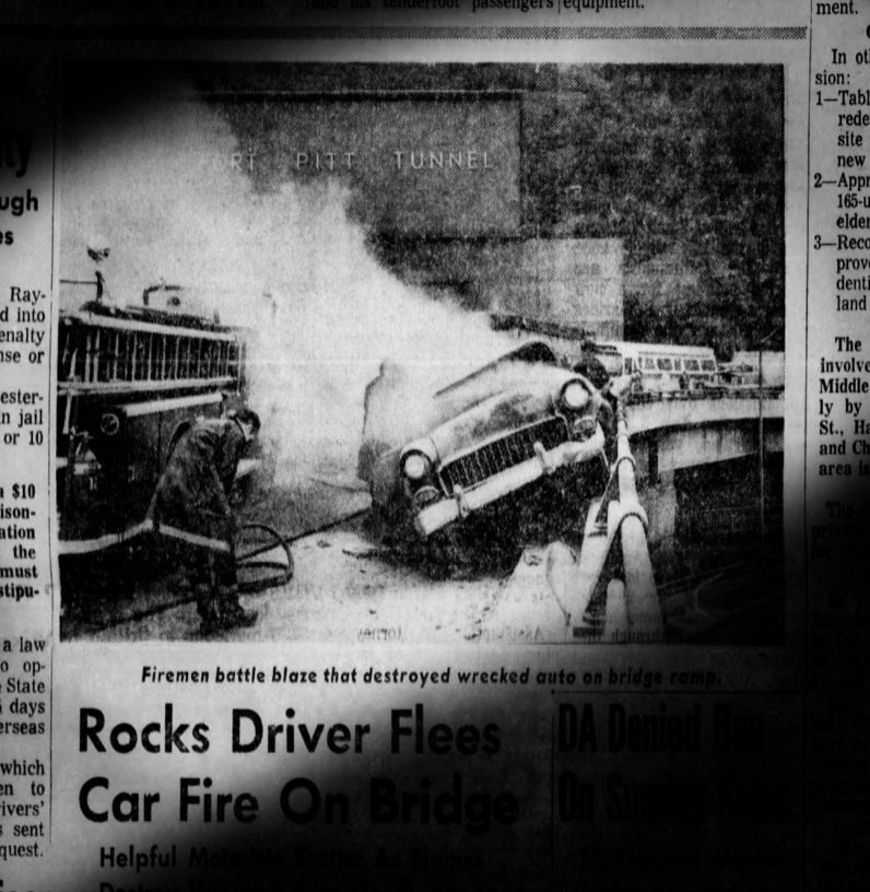 Pittsburgh Press coverage of the incident.