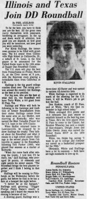 A Post-Gazette story on Kevin Stallings from March 21, 1978.