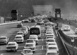 Undated picture of the Liberty Bridge. (Post-Gazette)