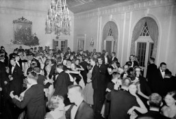 The Cinderella Ball circa 1950s. (Cinderella Ball Committee Records, MSS 1109, Detre Library & Archives, Heinz History Center)