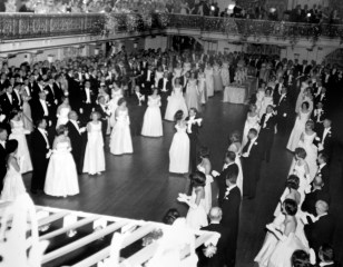 The Cinderella Ball circa 1960s. (Cinderella Ball Committee Records, MSS 1109, Detre Library & Archives, Heinz History Center)