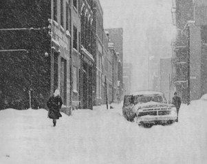 Negotiating First Avenue on Jan. 20, 1978, was tricky, regardless of whether one was on foot or in a vehicle.