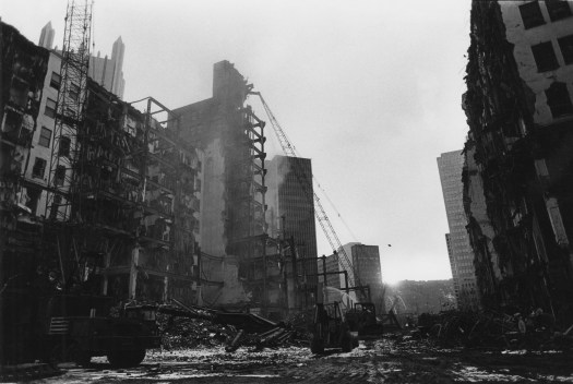 The Empire Building and Jenkins Arcade being town down in February of 1984. (Post-Gazette)
