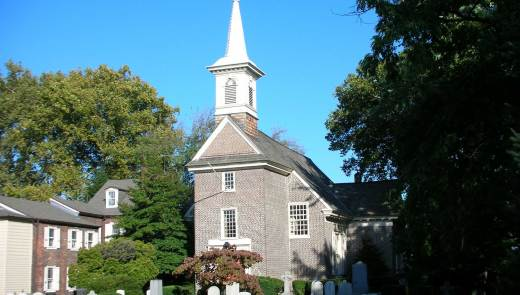 Gloria Dei Church National Historic Site. (Photo courtesy National Park Service)