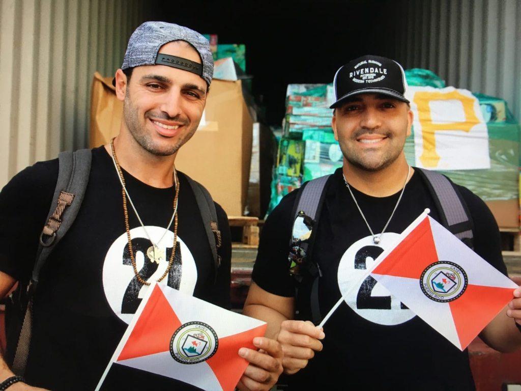 Sean Rodriguez and Mike Gonzalez. (Courtesy Mike Gonzalez)