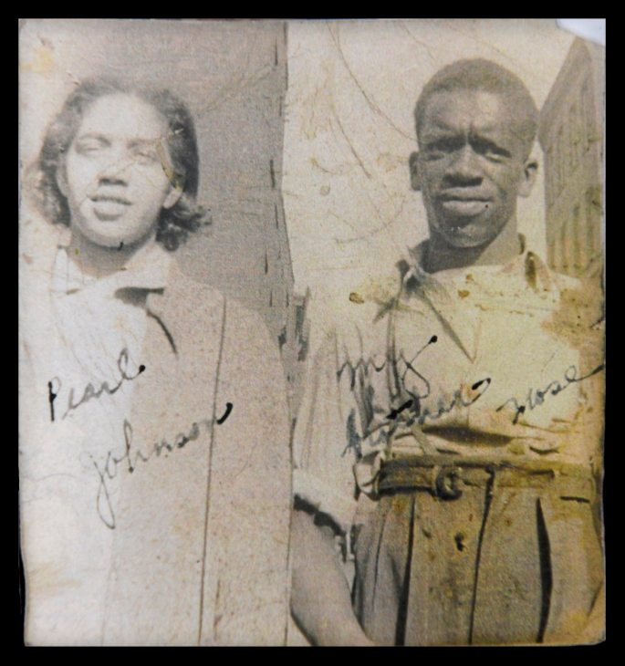 Pearl Johnson and husband Moses Mitchell in the early 1950s. (Photo Courtesy Carol Johnson)