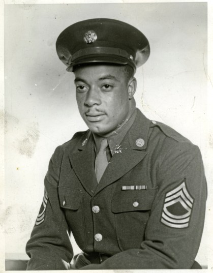 Sgt. James A. Dorsey Jr., who served as an engineer and mine sweeper in Europe and North Africa with the Army during World War II. credit: Dorsey-Turfley family photos, Detre Library & Archives, Sen. John Heinz History Center