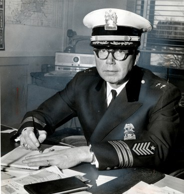 Toledo Police Department Chief Anthony Bosch, 1969. Blade file photo