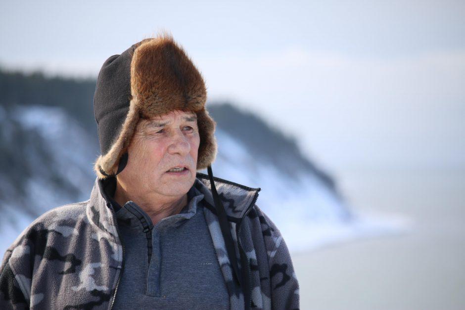 Mi'kmaq Elder Calvin White of Flat Bay
