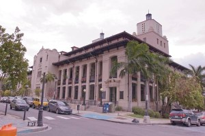 The U.S. Bankruptcy Court in Old San Juan was less active last month. (Credit: © Mauricio Pascual)