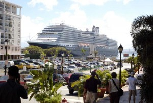Puerto Rico's cruise ship industry pumps $245 million into the economy.  (Credit: © Mauricio Pascual)