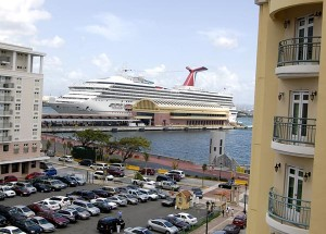 San Juan is still a major homeport for cruise ships, with 1.17 million passengers arriving during the 2011-12 cruise year, says a Florida Caribbean Cruise Association study.  (Credit: © Mauricio Pascual)