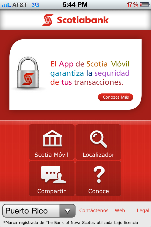 Scotia Bank App