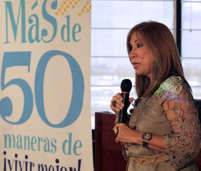 Myrna Perez, spokesperson for Triple-S's new campaign.